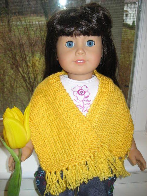 American Girl Doll Simple Prayer Shawl – Vertical | amg cloths ...