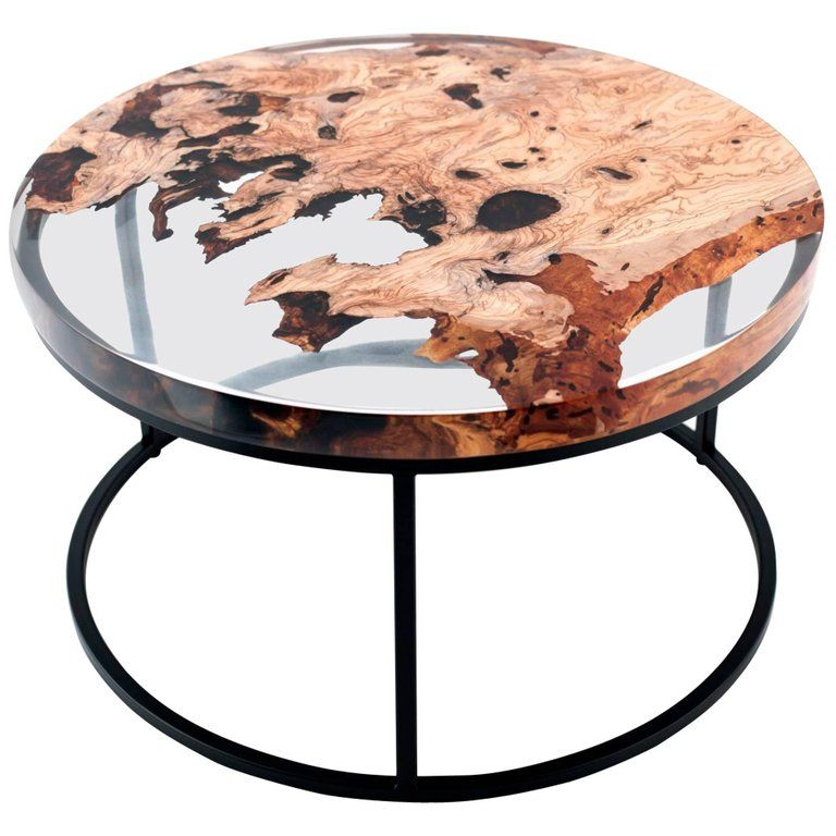 24++ Wood epoxy resin coffee table trends