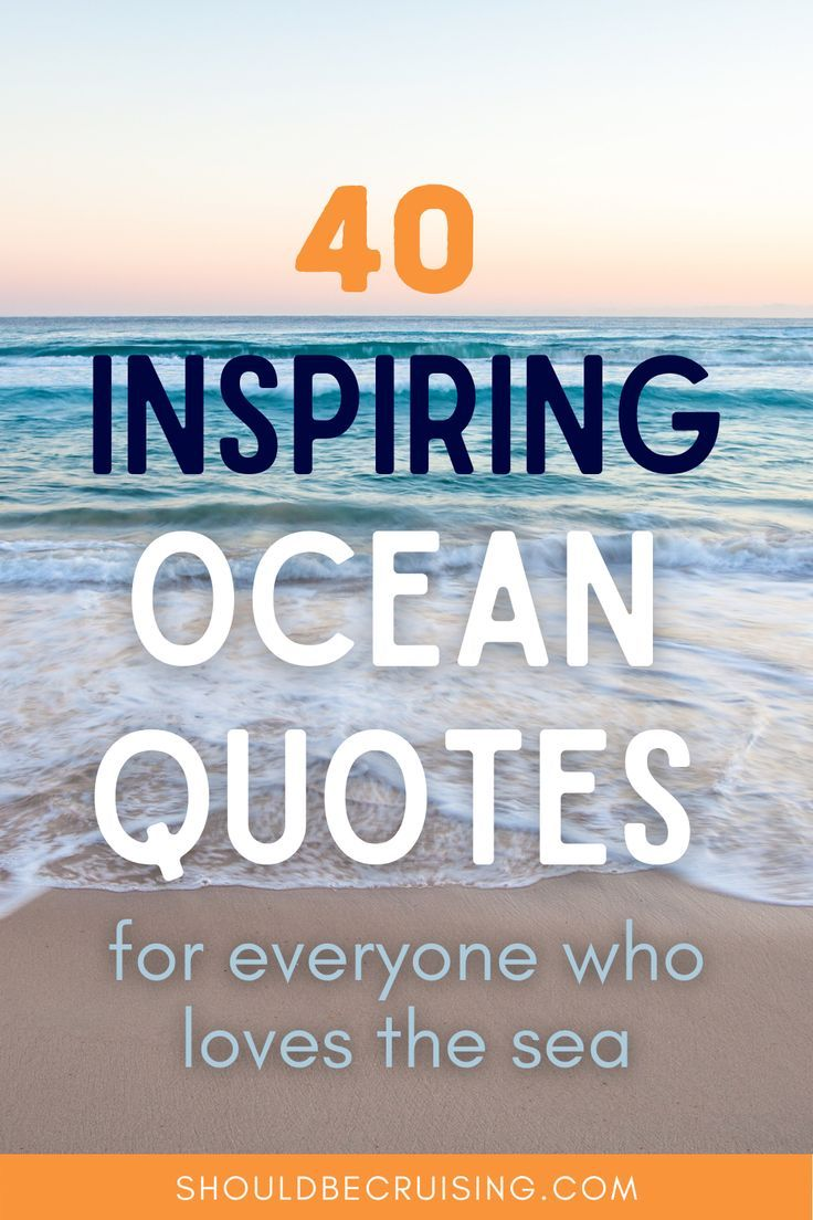 40 Ocean Quotes for Everyone Who Loves The Sea