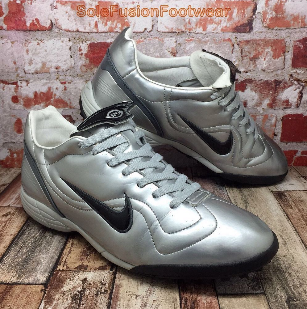 uk availability 8d9be c68dc Nike Mens R9 VAPOR Turf Trainers Silver sz 11 VTG Football Soccer Shoes US  12 46   eBay