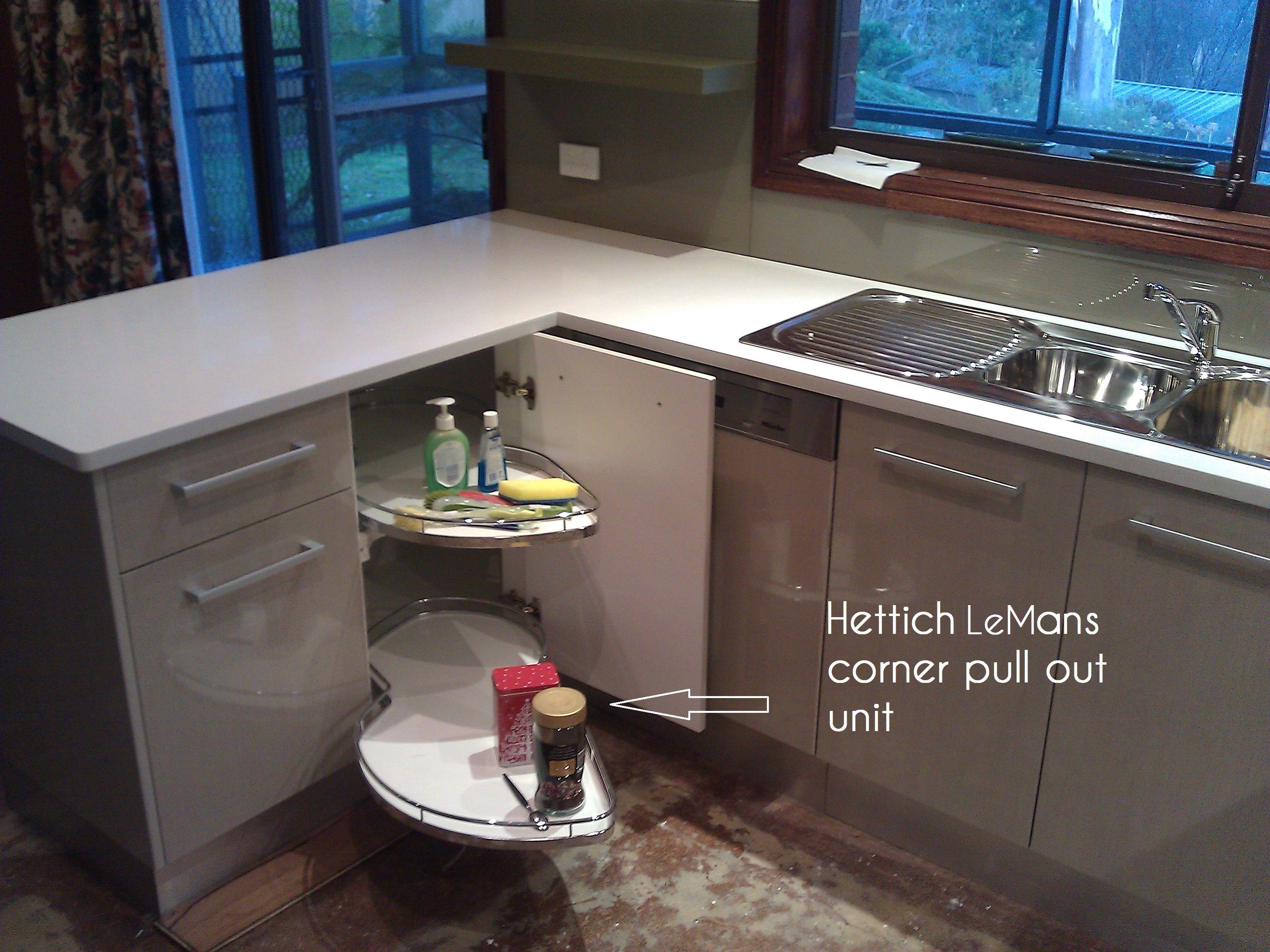 Clever corner storage solution from Hettich   Clever Kitchen Storage ...