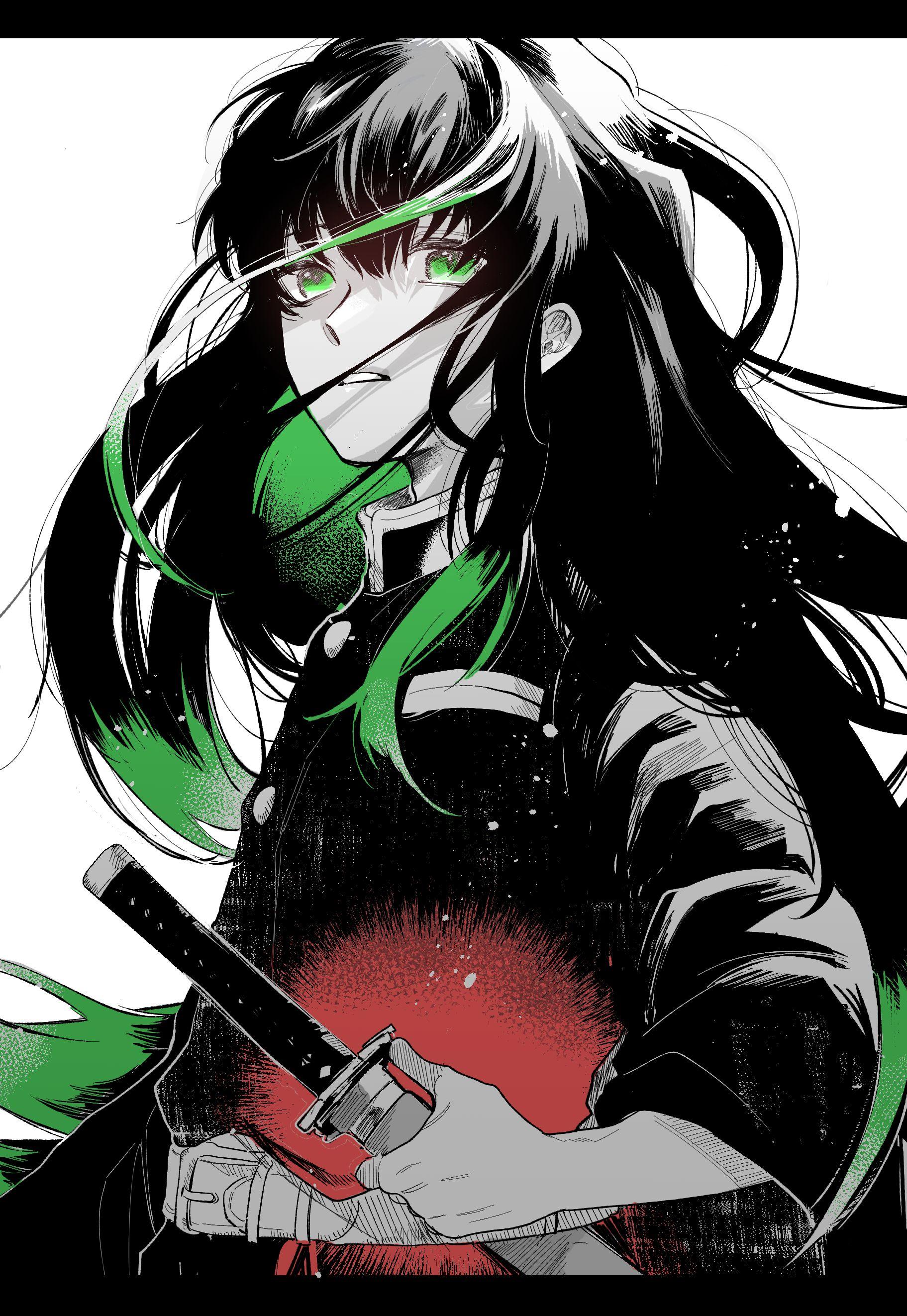 焼肉大盛 on Twitter in 2020 Anime demon, Anime wallpaper, Anime