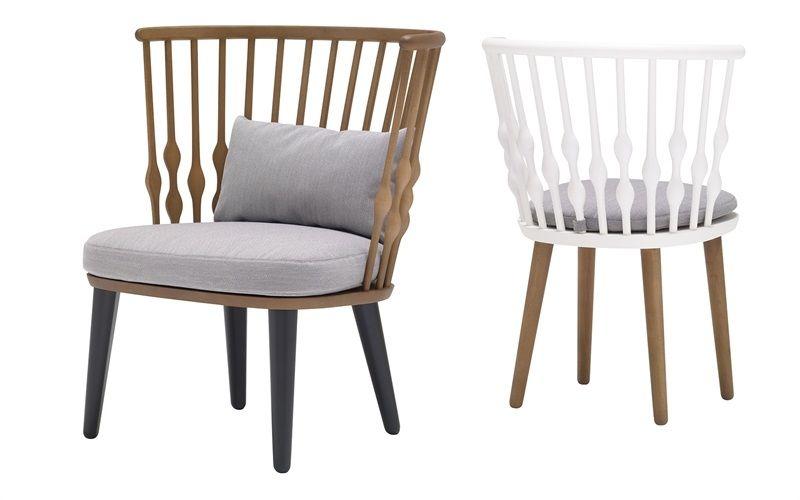 Andreu World Nub BU1437 and SO1434 lounge chair and armchair Dawa - mesas de diseo