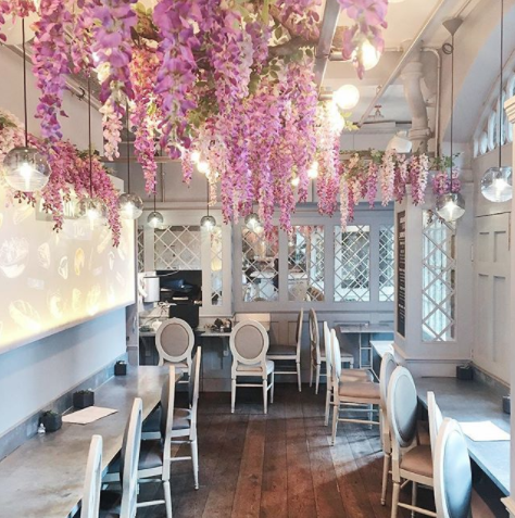 Our Aubaine Deli In Covent Garden Makes The Perfect Pit Stop As You Finish Off That Christmas Shopping Beauty Salon Decor Beauty Room Salon Decor