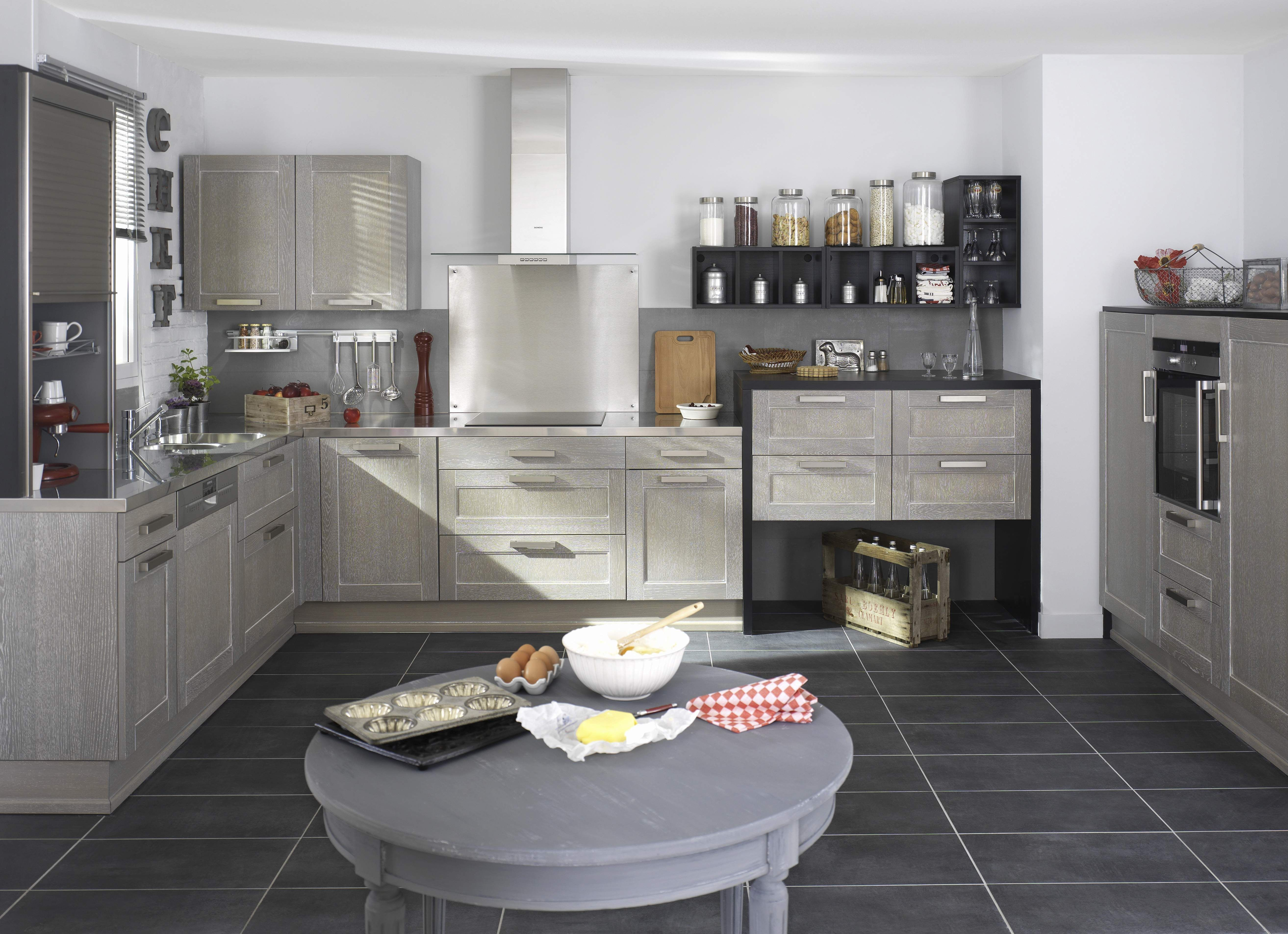 cuisine fjord gris patine blanc cuisine pinterest