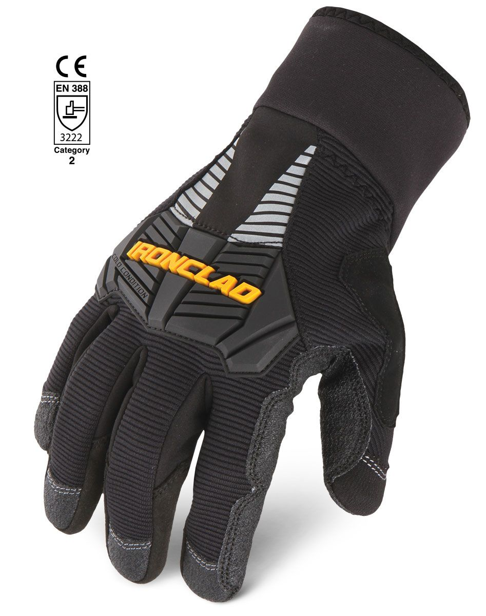 Cold Condition Cold Weather Gloves Black Gloves Waterproof Gloves