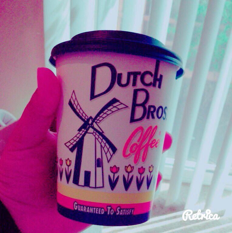 Dutch brow caramel hot chocolate Dutch bros, Dutch
