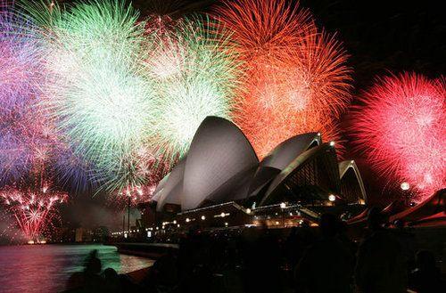 Australia Festivals Around The World Sydney Opera House New Year S Eve Around The World