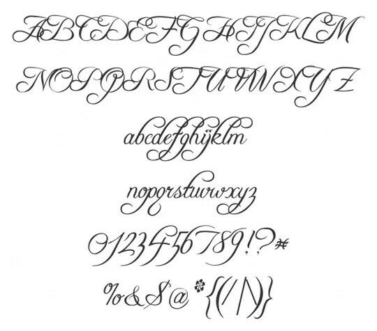 Few Days Back We Presented A Collection Of Calligraphic Fonts Where Got Good Response