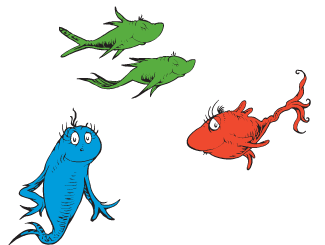 Dr Seuss One Fish Two Games Activities