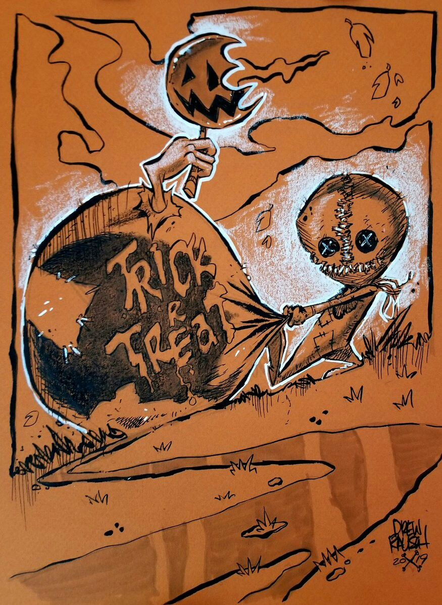 Pin by Robin on Trick 'r Treat Trick r treat, Horror, Poster