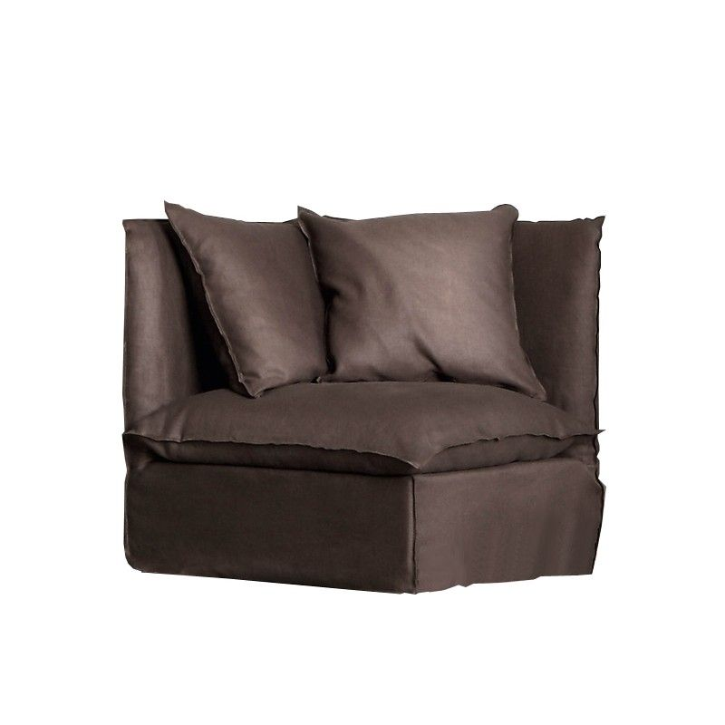 Affordable product Corner / end element Gervasoni Ghost 07 design Paola Navone of Gervasoni.