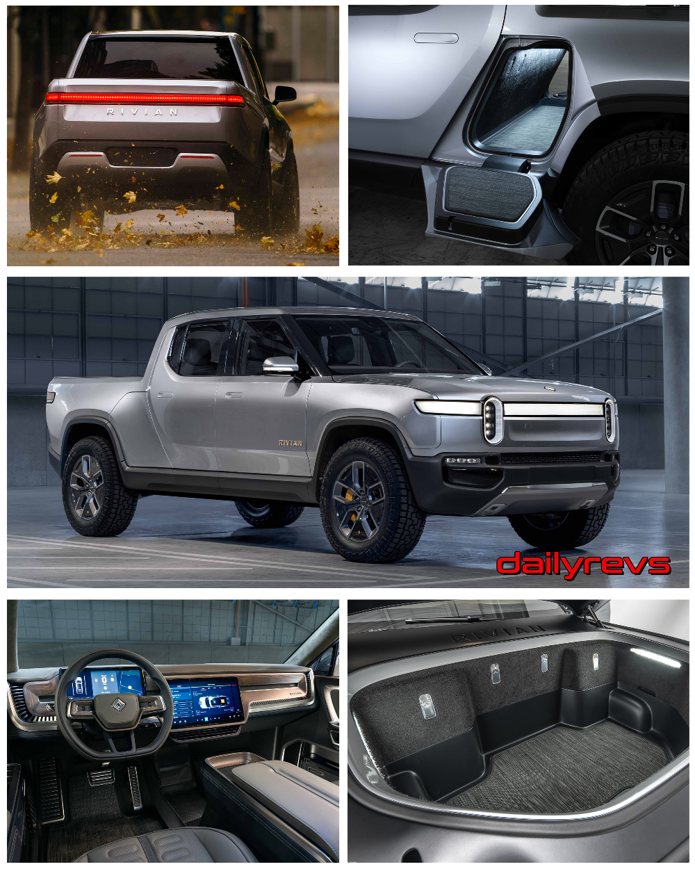 2021 Rivian R1T HD Pictures, Videos, Specs & Information