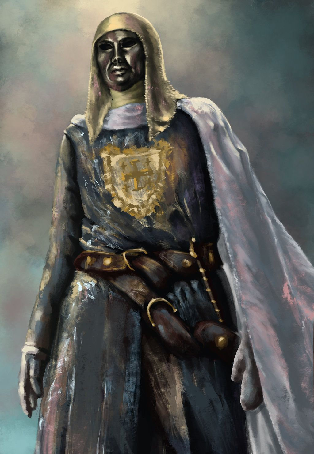 The mask looks kind of weird tho... | King Baldwin IV in ...