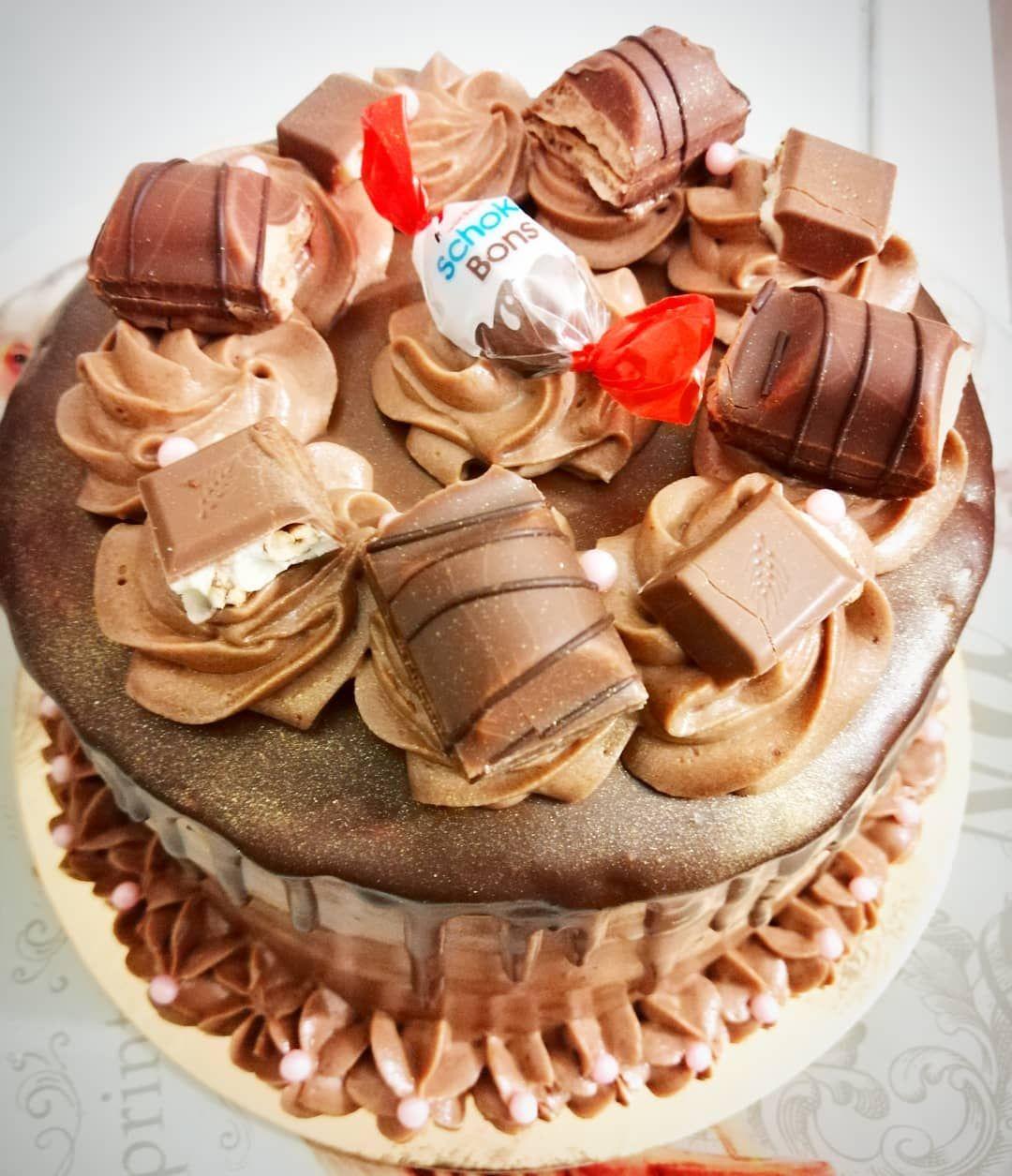Oh Le Beau Et Super Bon Gateau D Une De Mes Copines Pour Son Anniversaire Je Veux Le Meme Pour Moi Food Desserts Cake