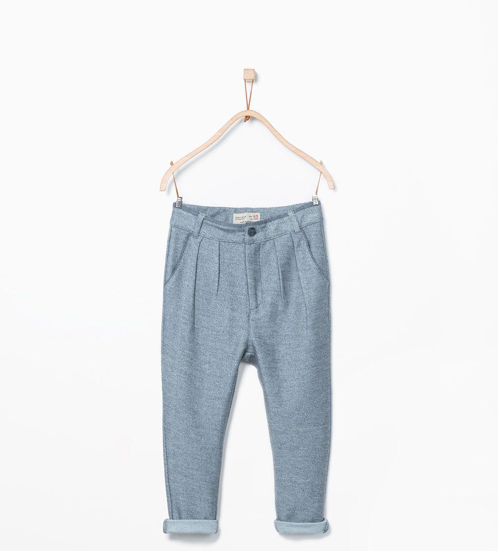ZARA - ENFANTS - Pantalon droit