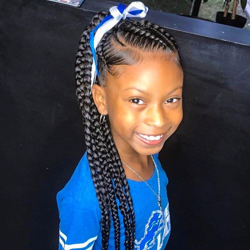 Sweet Cornrows For Cute Little Girls Curly Craze In 2020 Hair Styles Kids Braided Hairstyles Lil Girl Hairstyles