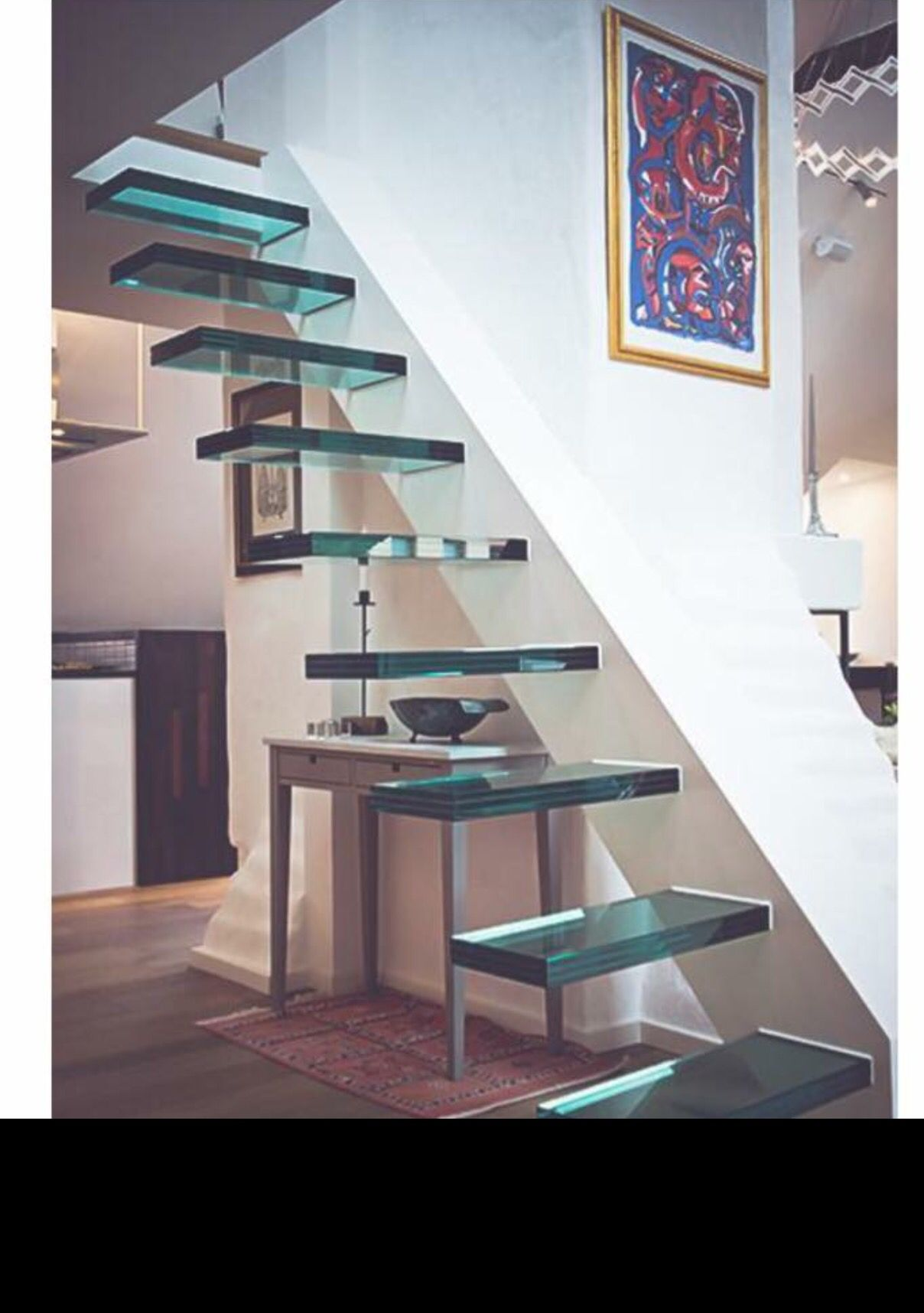Best Staircase Made Of Glass Rumah Tangga 400 x 300