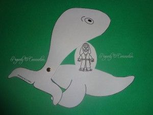 Jonah & the Whale CRAFT 2 byElaine