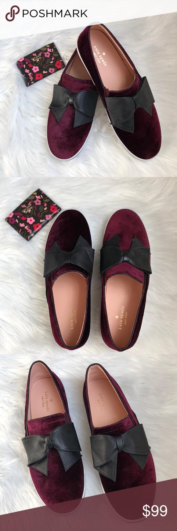 kate spade burgundy shoes