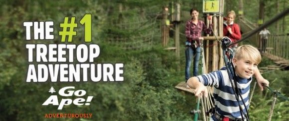Connecticut S First Go Ape Treetop Adventure Course Opens In New Britain Go Ape Adventure New Britain