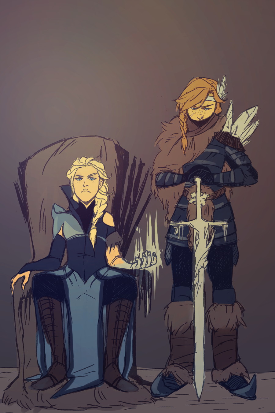 Hail the queen by AtomicRedBoots on DeviantArt