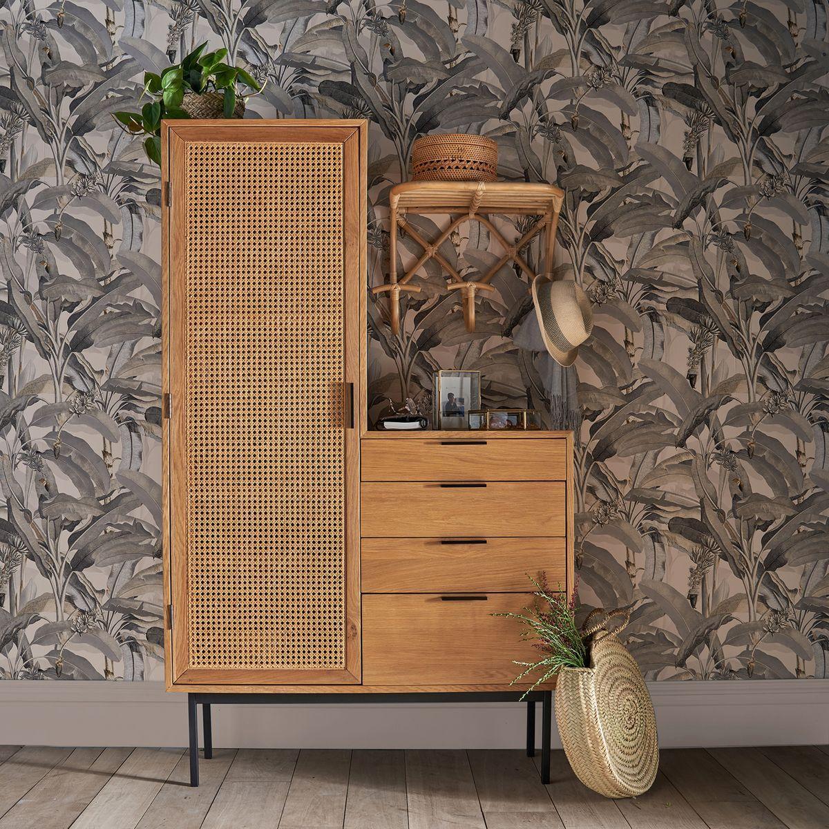Armoire Dressing Waska Naturel Armoire La Redoute Interieurs Iziva Com Mobilier De Salon Decoration Meuble Idees De Decor