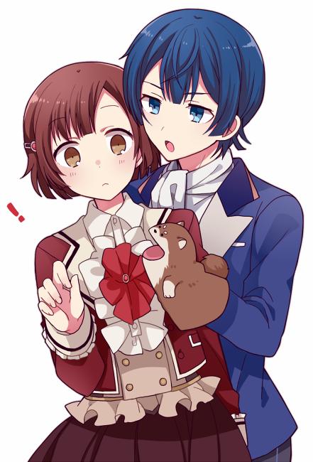Girl Anime And Boy Image