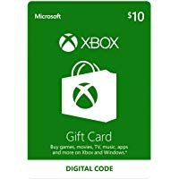$10 Xbox Gift Card [Digital Code] by Microsoft