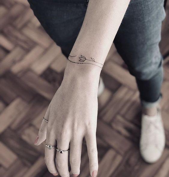 43+ Manschette Tattoo Vorlage, die im Armbandstil gemacht werden kann