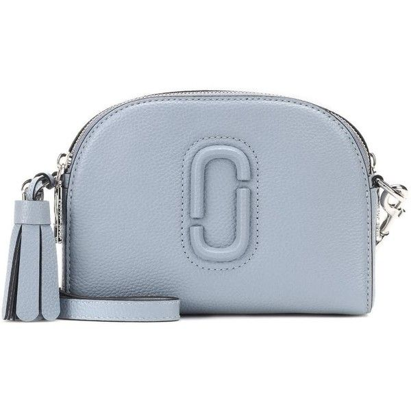 bab998c43090 Marc Jacobs Shutter Small Leather Crossbody Bag ( 395) ❤ liked on Polyvore  featuring bags