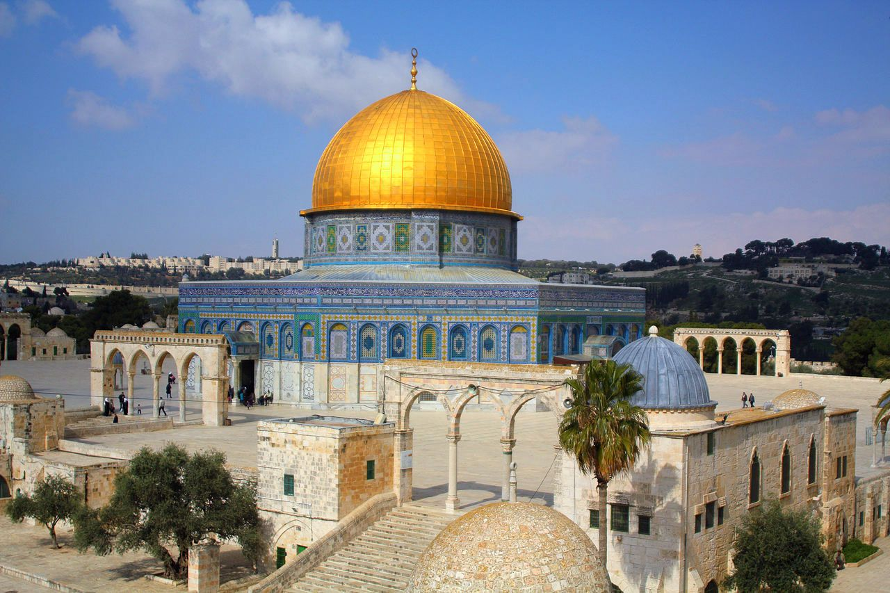Dome of the Rock | Dome of the rock, Temple mount, Jerusalem