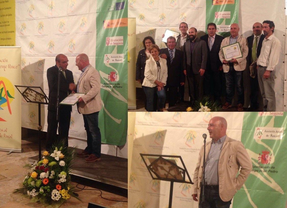 El pasado 4 de Junio se celebró la XI edición de los premios al Desarrollo Rural Macario Asenjo Ponce donde fuimos premiados. Para más información, el siguiente artículo --> http://www.fundacionmacario.org/noticiaId.asp?id=36