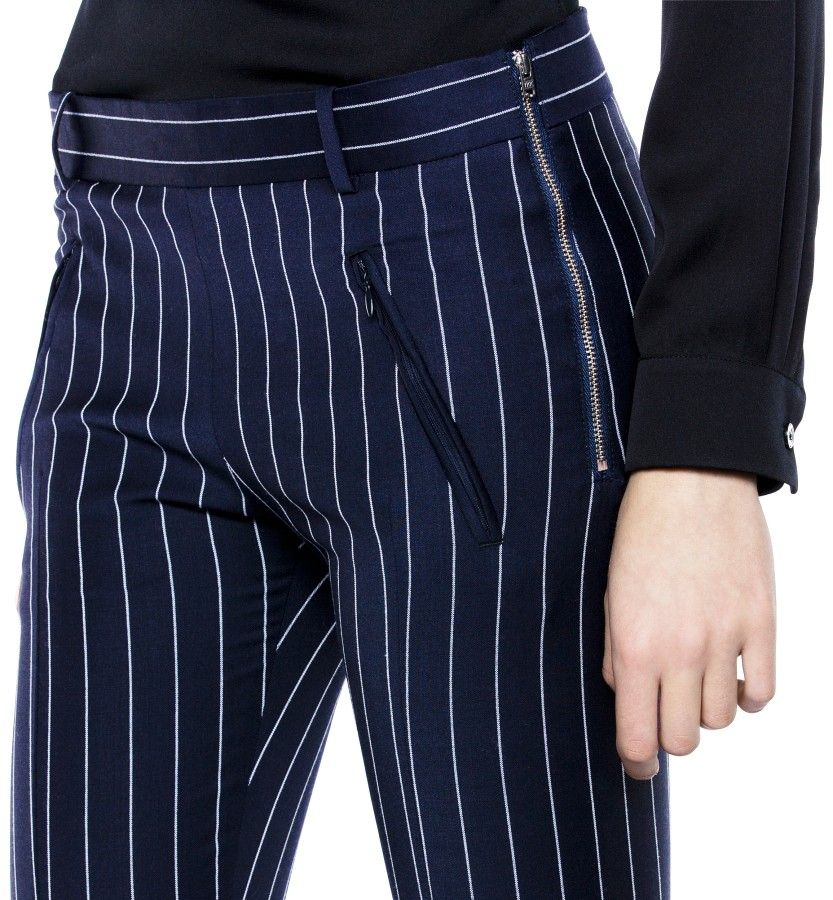 Best Pinstripe Navy Pinstripe  Acne. Want them.