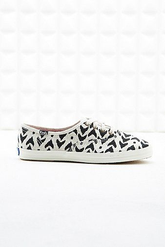 Keds Champion Ikat Trainers in Black