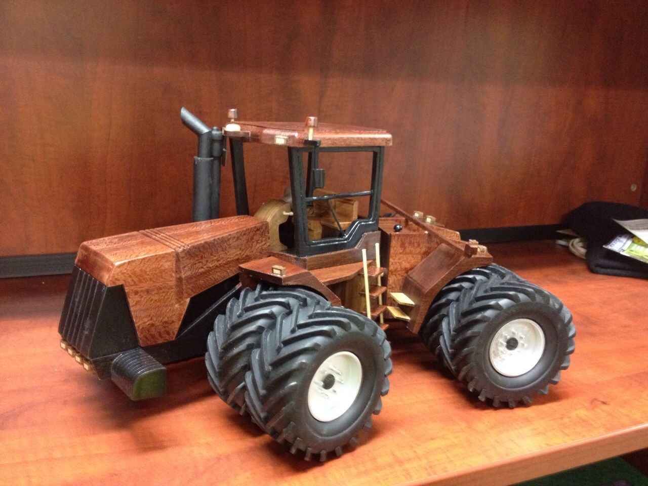 Wooden Case IH tractor Wooden toys, Wooden toy trucks
