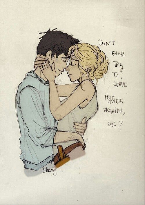 percy and annabeth before dating fanfiction