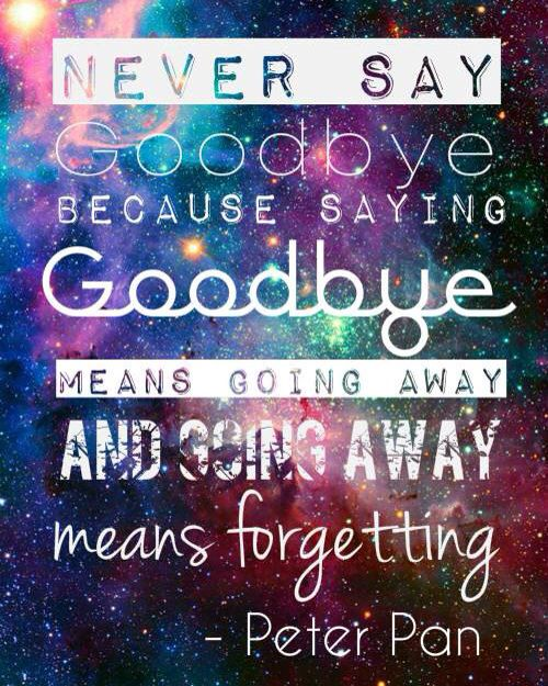 Peter Pan Never Say Goodbye Disney Peter Pan Quotes Quotes