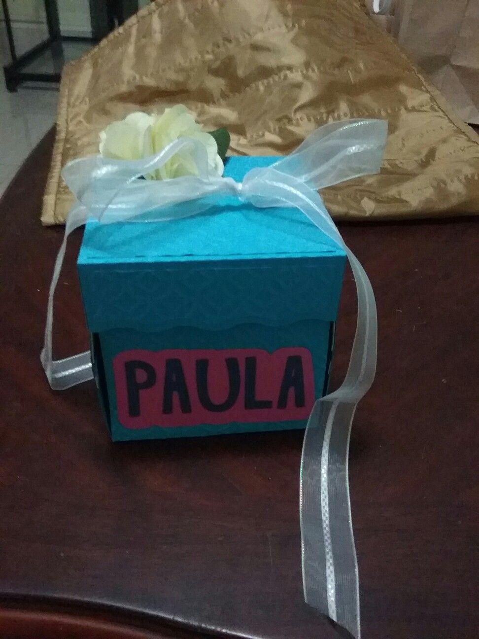 Caja explosiva regalo de Cumpleaños