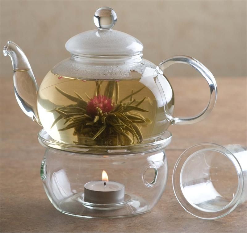 Glass Teapot And Warmer Repin For The Chance To Win An