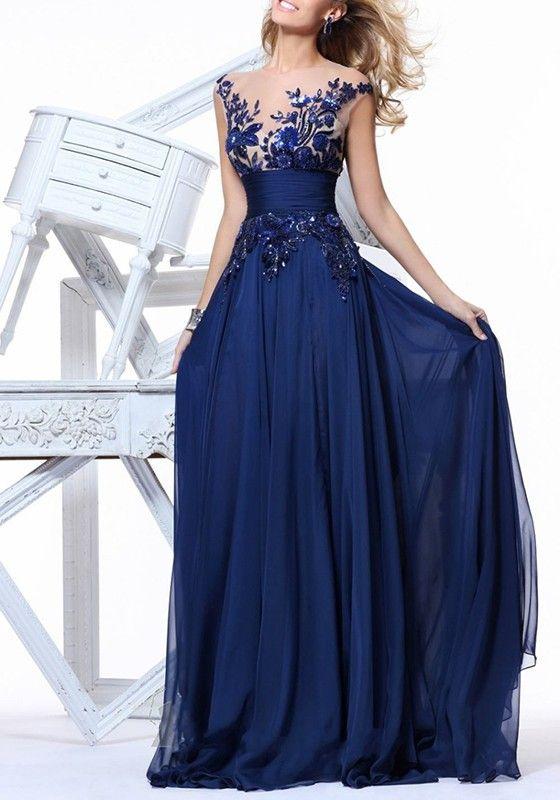c30db8689 Resultado de imagen para vestido zafiro