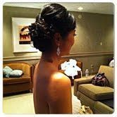 Bride Updo with Low Side Bun #lowsidebuns Bride Updo with Low Side Bun  #bride #weddingsidebuns