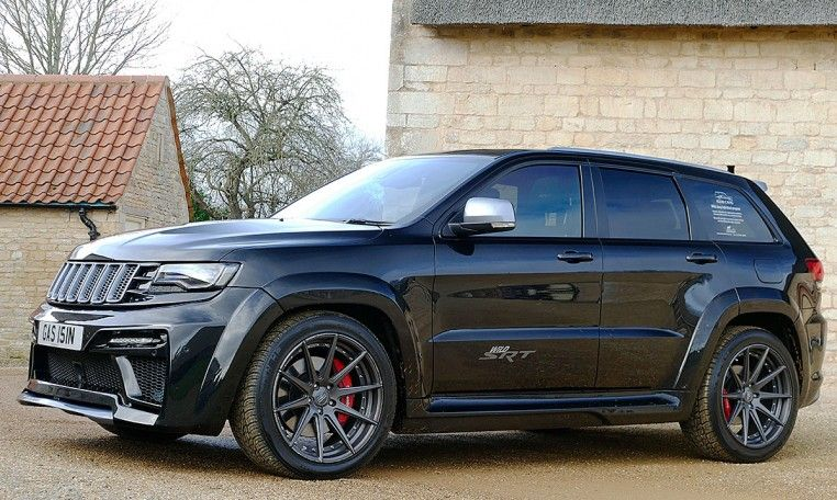Ex Demo Speacial Truly Wild 700bhp Supercharged V8 Srt Jeep