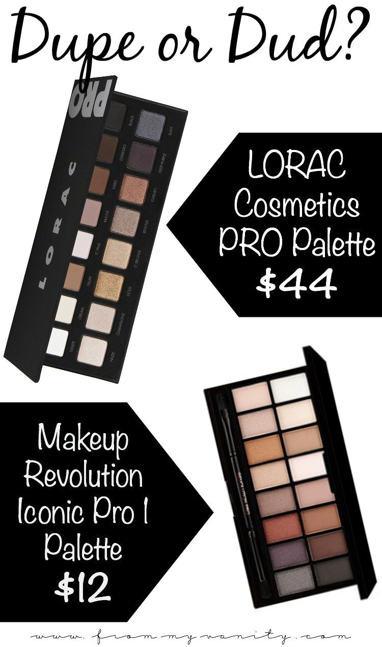 The Makeup Revolution Iconic Pro 1 palette is passed