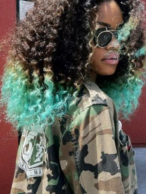 Dye Time Hair Color Trends To Try With Images Natural Hair