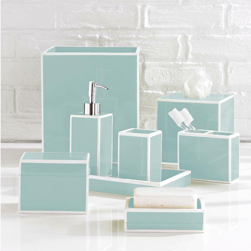 badezimmer accessoires turkis, badaccessoires, die frische ins badezimmer bringen | badezimmer, Design ideen