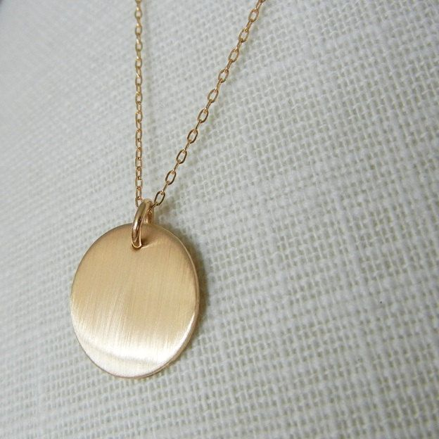 Gold circle necklace brushed gold simple necklace minimal gold gold circle necklace brushed gold simple necklace minimal gold necklace everyday gold jewelry simple jewelry shimmer e ria designs aloadofball Choice Image
