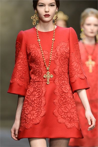 Dolce & Gabbana - Collections Fall Winter 2013-14 - Shows - Vogue.it
