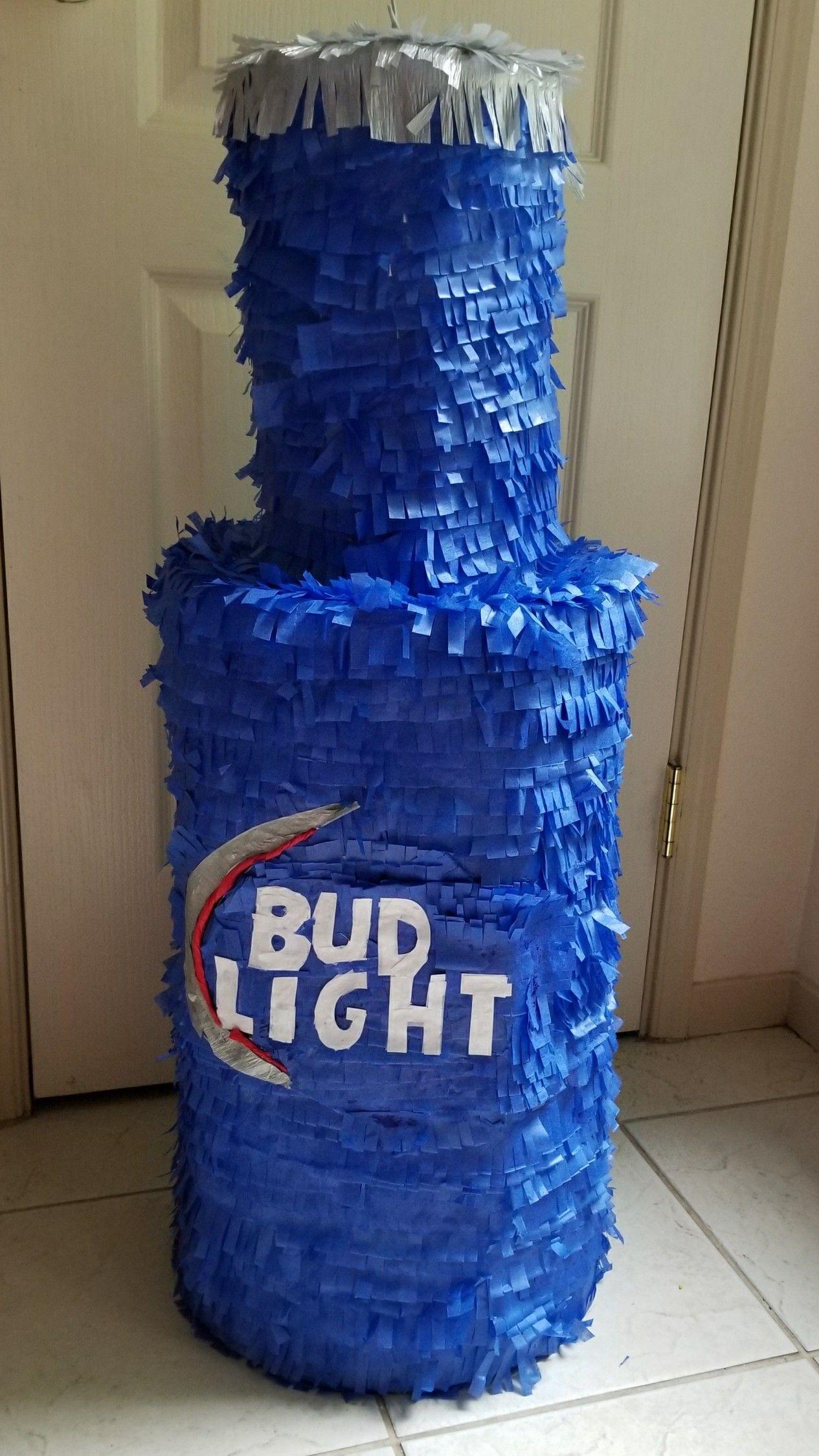 40 40oz Budlight light Bottle pinata Bud