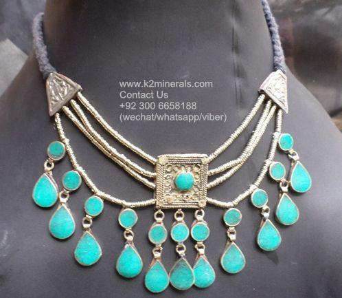 boho necklace Collar de Joyas tribales tibetian necklace